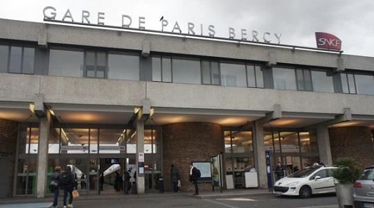 Taxi gare de Bercy